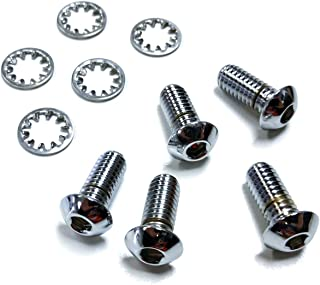 Bolt Kit, 5/16,for Front Rotor (5 bolts), Chrome