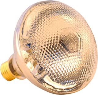 BONGBADA Infrared Heat Lamp 100W Light Bulb for Farm Animal Food Bathroom Chicks PAR38