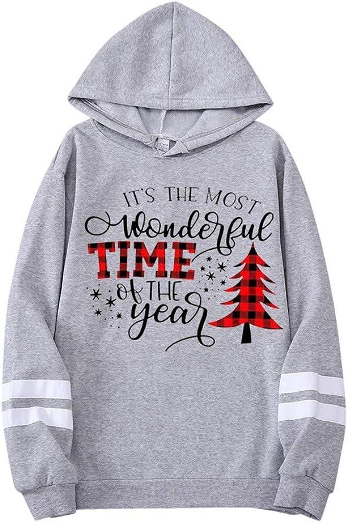 Hoodies for Ranking TOP13 free shipping Teen Boy Misaky Christmas Long S Print Tree Stripes