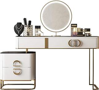 Coiffeuse De Luxe - Table De Maquillage Décoration De Meubles De Chambre D'appartement - Coiffeuse De Cosmétiques Organisa...