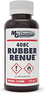 MG Chemicals 408C Rubber Renue, Rejuvenate and Restores Rubber Belts, Platens and Rollers, 125ml Liquid Bottle
