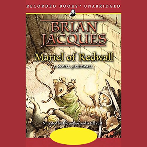 Mariel of Redwall audiobook cover art