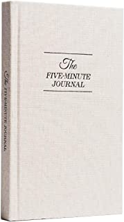 The Five Minute Journal: A Happier You in 5 Minutes a Day   Original Creator of The Five Minute Journal - Simple Daily Guided Format - Increase Gratitude & Happiness, Life Planner, Gratitude List