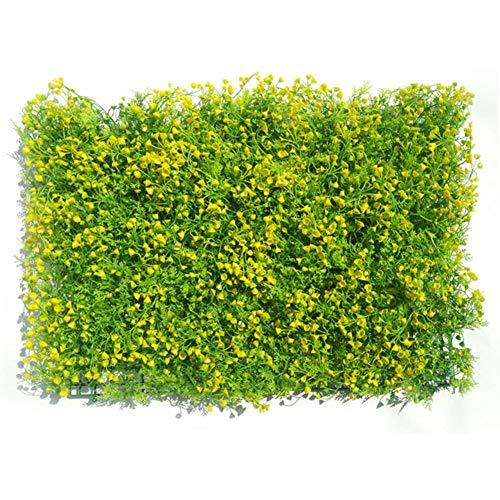 Künstliche Blätter Heckenplatten Topiary Heckenpflanze, Privacy Hedge Screen UV-geschützt für Outdoor Indoor Gartenzaun Hinterhof, 15,75x23,62 Zoll