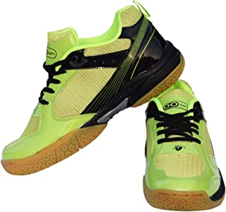 Gowin Neo Grip Badminton Shoes (Green/Black)