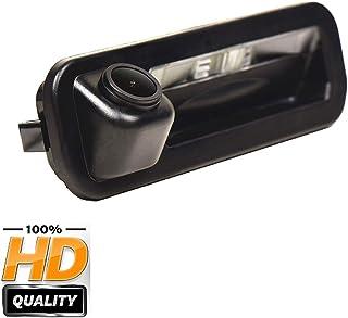 170° HD Kamera 1280x720p Wasserdicht Nachtsicht Einparkhilfe Hilfslinien Heckklappe Rückfahrkamera Distanzlinien Umschaltbar für Ford Focus SE/Focus ST/Focus 2/Focus 3/Turnier Mk3/Escort 2012 2014