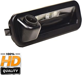 HD 1280x720p Rear Reversing Camera Integrated in Trunk Handle Rear View Backup Camera for Ford Focus SE/Focus ST/Focus 2/ Focus 3/Focus Turnier Mk3/Escort 2012-2014