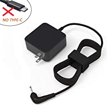 AC Charger for Samsung Chromebook 2 3 XE500C13 XE500C13-K03US XE501C13-K01US XE501C13-K02US XE500C12 XE303C12 Laptop PA-1250-98 BA44-00322A AA-PA3N40W AD-2612AUS PA-1250-96 Power Adapter Supply Cord