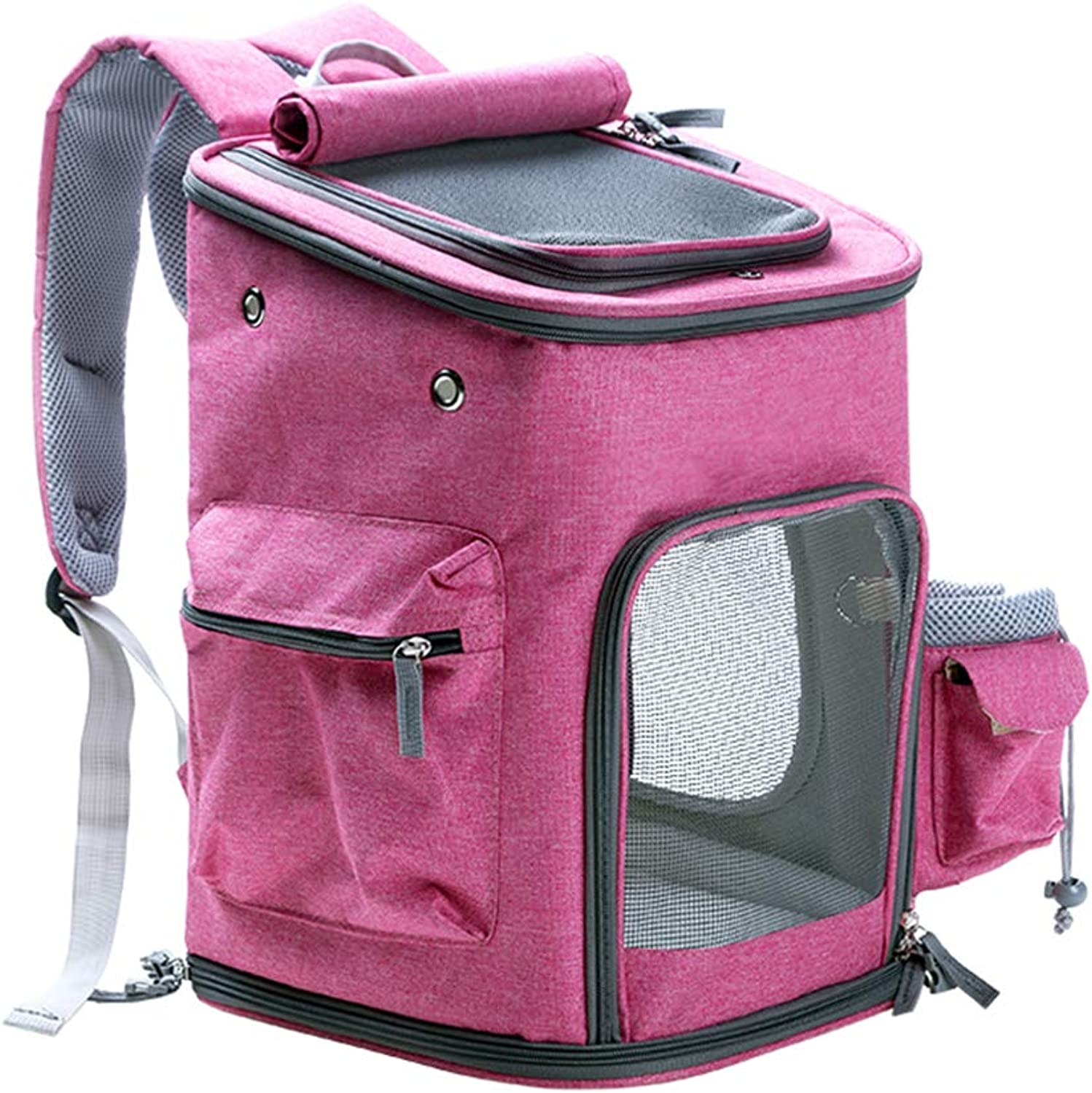 JYKOO Pet Carrier Backpack, Airline Approved Soft Sided Pet Carrier Small Dogs Cats Up To 20Lbs Hiking & Outdoor Use