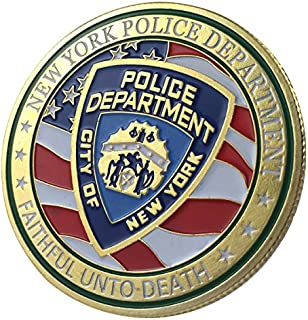 Best challenge coins nypd Reviews