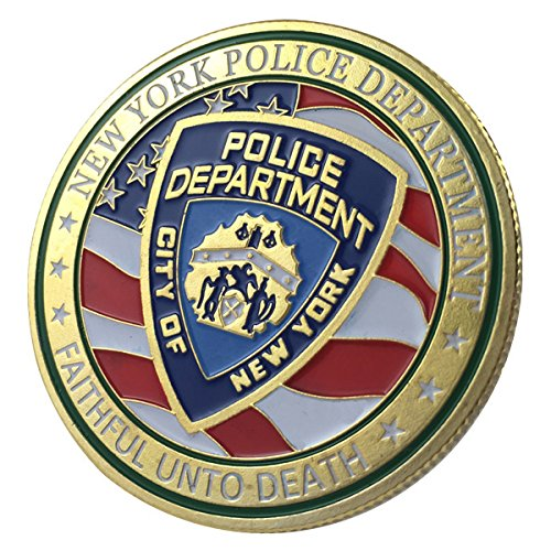 New York City Police Department / NYPD G-P Challenge coin 1121#