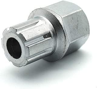 TEMO 53/8PT Wheel Lock Lugnut Anti-theft Lug Nut Screw Removal Key Socket S3057 For VW AUDI