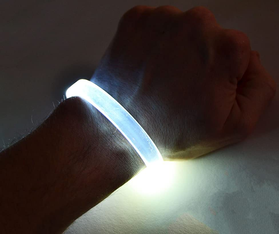 GlowCity LED Light Up Bracelets (2 Pack) a90543349572999