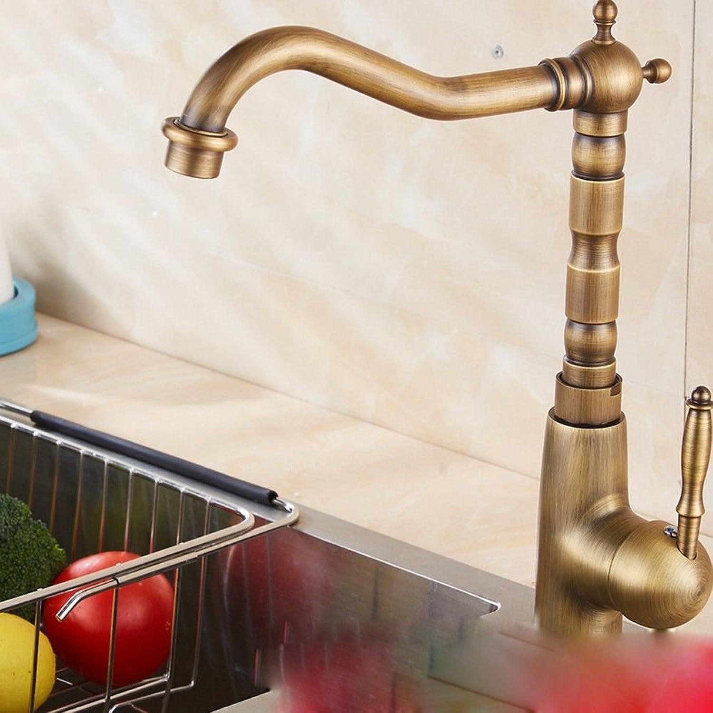 Lalaky Waschtischarmaturen Wasserhahn Waschbecken Spültisch Küchenarmatur Spültischarmatur Spülbecken Mischbatterie Waschtischarmatur Bronze Antike Vintage Heie Und Kalte Bronze