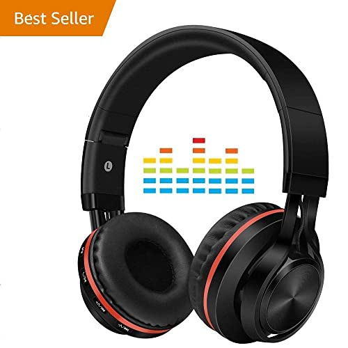f803c6729ee Wireless Active Noise Cancelling Headphones with Mic,Alteng Hi-Fi 30H  Playtime Travel Foldable