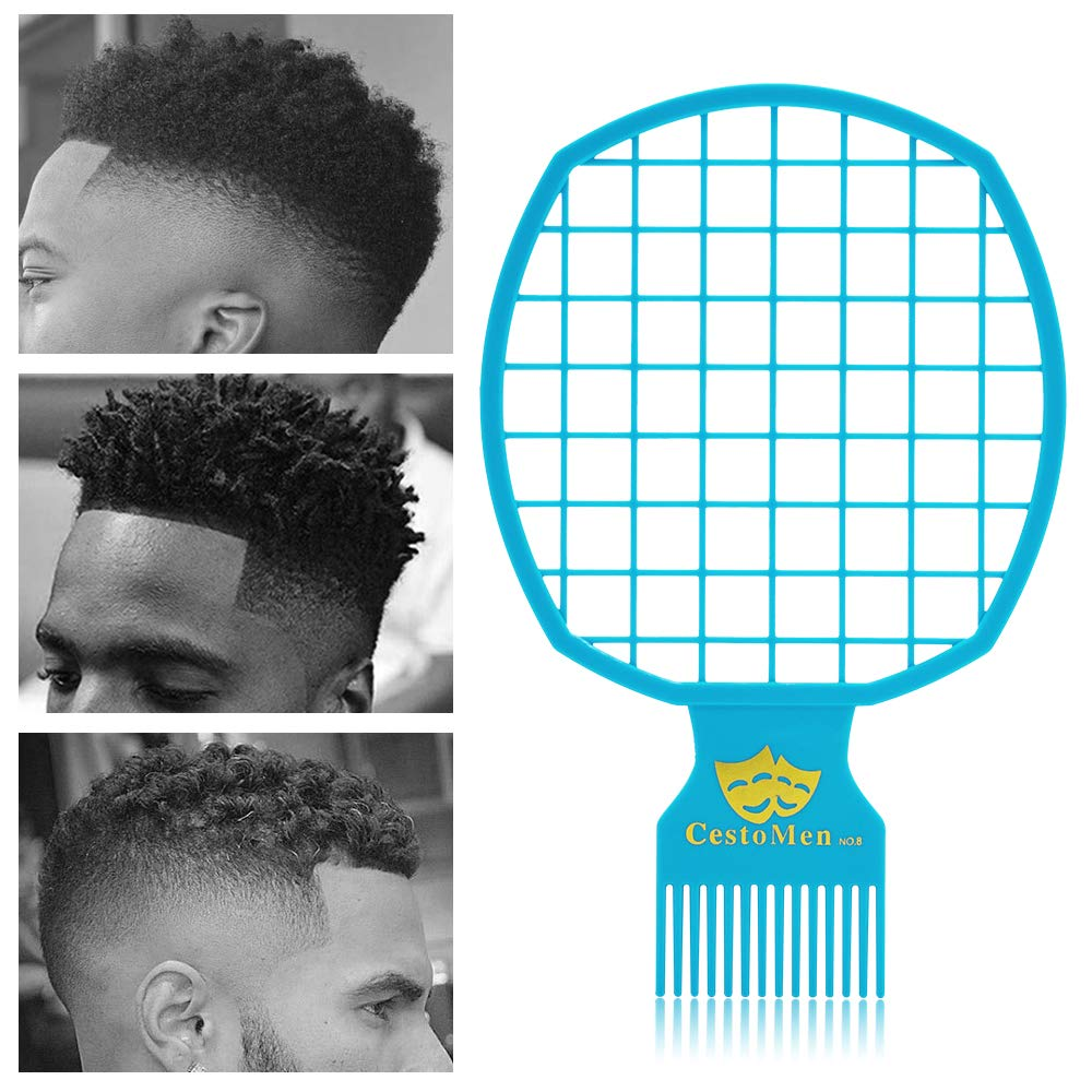 Magic Afro Twist Comb Metal Pick Comb Set Weave Hair Detangle Wig Braid Hair Styling For Barber And Personal Use Black Buy Online In Bahamas Missing