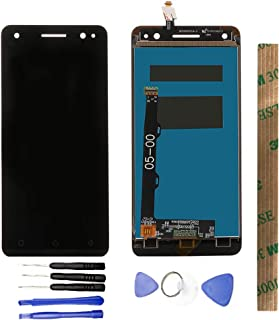 JayTong شاشة LCD مثبتة بمدخل رقمي مزود بواقي مجانية لـ5 بوصة Le novo Vibe S1 Lite/Le novo S1La40 Black