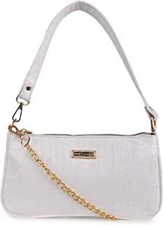 DIXON Synthetic Leather Casual Travel Chain Shoulder Deatachable Slingbag For Women