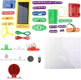 Perfeclan 1000-in-1 Electronics Learning Kits -38pcs Lab Basic Circuit Project -W-688