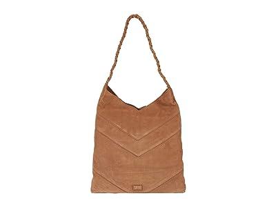 FRYE AND CO. Caden Hobo (Tan) Handbags