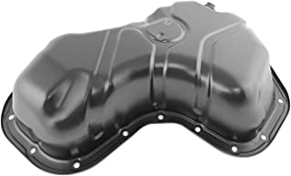 Beasteel 52118780 52118780AC 52118780AD 265827X 265827 103238 Steel Transmission Oil Pan with Drain Plug for 96-10 Dodge B1500 B2500 B3500 Dakota Durango Ram 1500 2500 3500