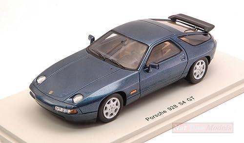 garantizado Spark Model S4944 Porsche 928 S4 S4 S4 GT 1990METALLIC azul 1 43 MODELLINO Die Cast Compatible con  tienda en linea