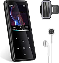 """$39 » MP3 Player with Bluetooth 4.2,32GB Sports MP3 Player with Free Sports Armband and Earbud,HiFi Lossless Sound 2.4"""" Screen M..."""