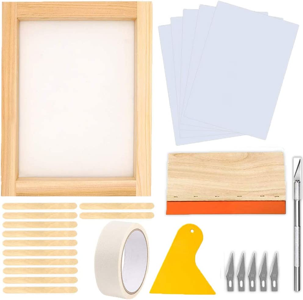 JAPI 27 Pieces Screen Printing 14 Starter x kit,Include Fees free!! Genuine Free Shipping 10