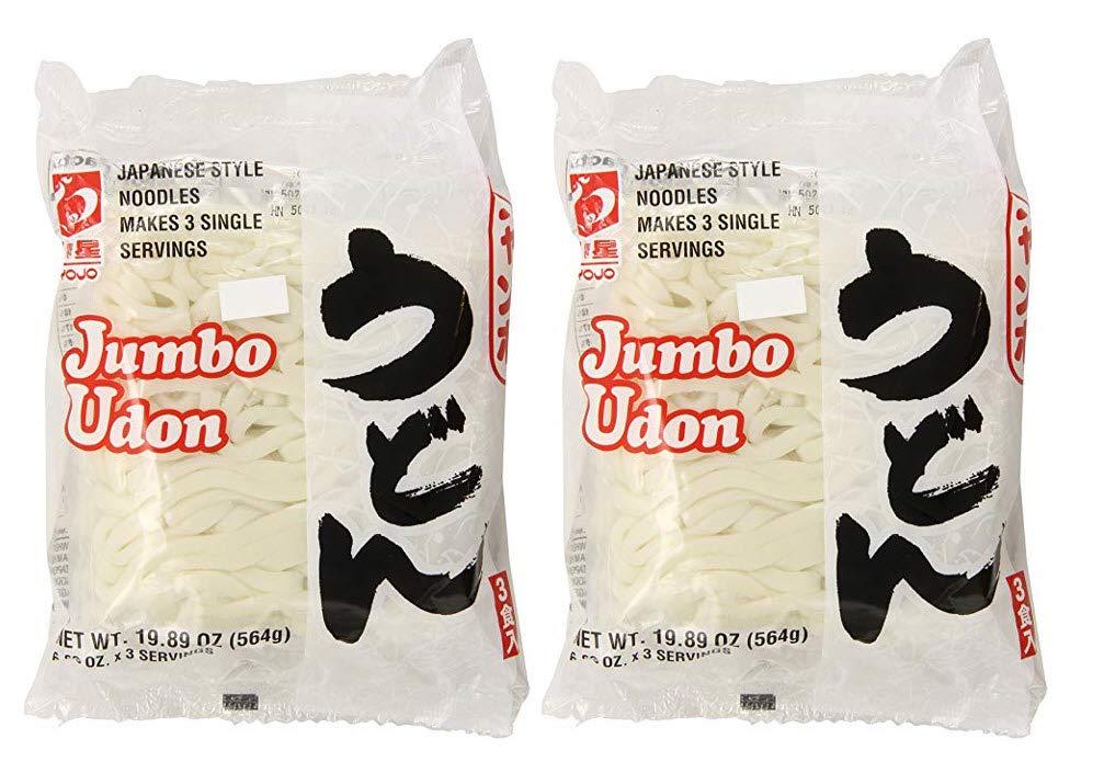 Myojo Omaha Mall Jumbo New product!! Udon Noodles No Soup of Ounce 19.89 2 Pack