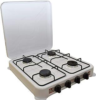 Amazon.es: cocina de gas portatil 4 fuegos