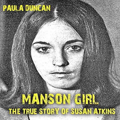 Manson Girl audiobook cover art