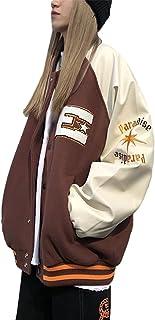 SMIMGO Mujeres Y2k Oversize Vintage Brown Chaquetas Zip Up Sudaderas Abrigo E-Girl 90s Estética Moda Sudadera Gilets Parej...