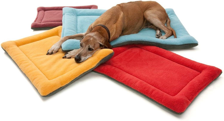 CHONGWUCX Dog Cushions, Dog Cushions, Air Conditioning Teddy Pet Mat