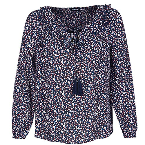 Kookaï Zeminile Tops/Blusen Damen Marine - DE 32 (EU 34) - Tops/Blusen Shirt