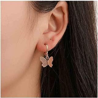Butterfly Earrings Dainty Gold Drop Earrings Charm Earring Body Jewelry for Women and Girls