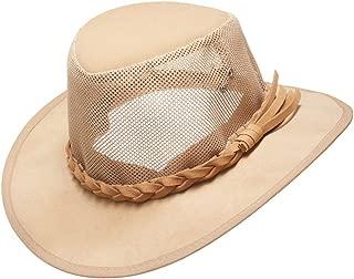 Mesh Sun Hat,Men's Golf Outback Cowboy Hats Summer Wide Brim Safari Fishing Outdoor Soaker Caps Halloween Costume Gift