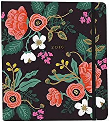 Beautiful Rifle Paper journal. Great tips for staying organized on this site.