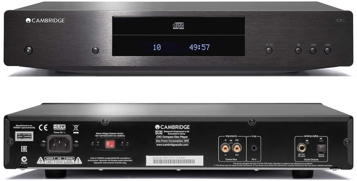 Cambridge Audio CXC CD Player Black 115V CU/JP