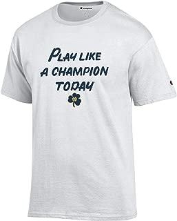 Champion Men's NCAA Classic Jersey Script/Team Logo Cotton T-Shirt