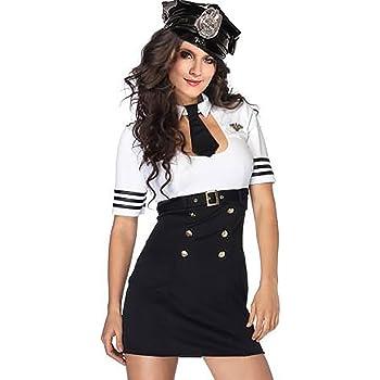 Disfraz de policía R-Dessous para mujer, de alta calidad, para ...