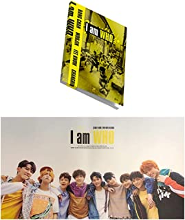 I am WHO 2nd Album STRAY KIDS [WHO ver.] KPOP Music CD + Photo Book + 3 QR Photo Cards + Lyrics Poster + Special Gift (4 P...