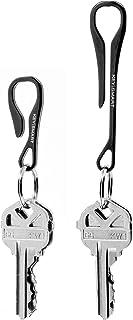 KeySmart Key Dangler Pack - کلیپ KeySmart خود را به هر چیزی گول بزنید (Key Dangler & Key Dangler XL ، Diamond Midnight)