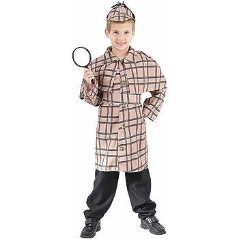 Detective Fancy Dress Costume (child size) 8-10 Years (disfraz ...