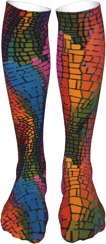 Thigh High Socks Cotton Over the Knee Socks,Long Knee High Socks