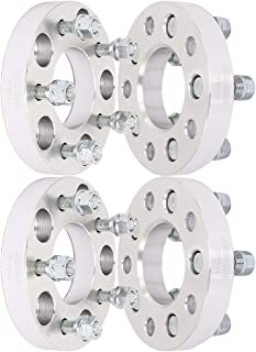 SCITOO 4x 4x114.3 to 4x100 1 inch Wheel Spacers adapters 4 Lug 12x1.5 studs 74mm compatible with Mazda 626 Mazda RX-7 Mercury
