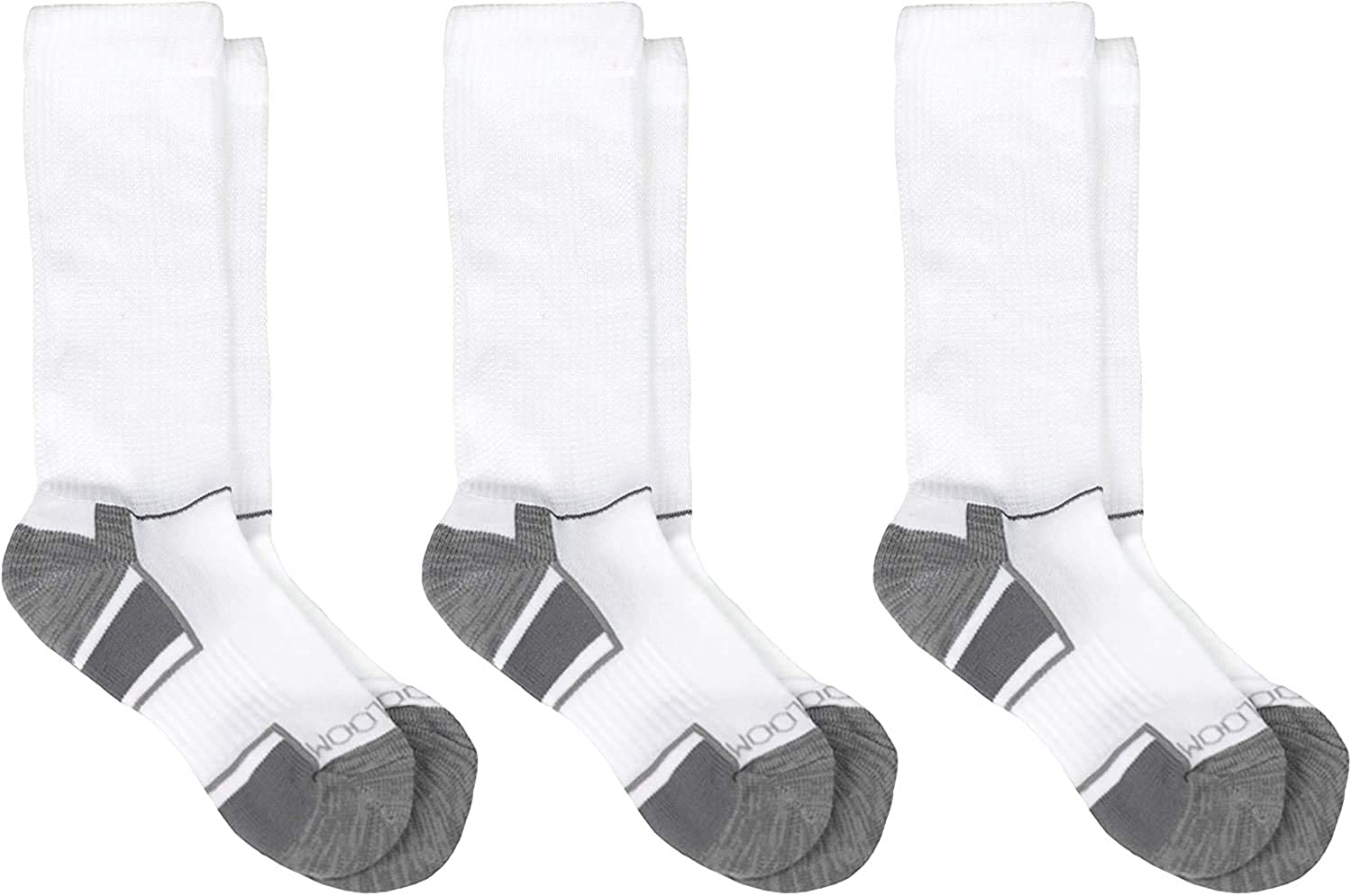 Fruit Of The Loom Boys 3 Pack Breathable Cooling Crew Socks