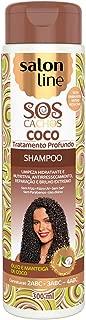 Shampoo Uso Diário 300ml SOS Coco Unit, Salon Line