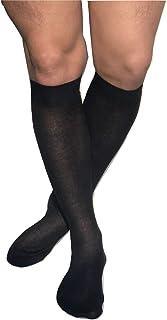 5-20 paia calzini business uomo comfort federale senza Elastico cotone nero