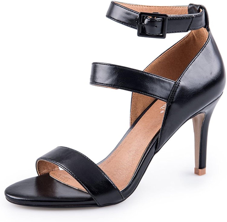 Sommer,Simple,EIN Wort Mit Schuhen Stiletto Sandaletten Damen Fashion Sandalen