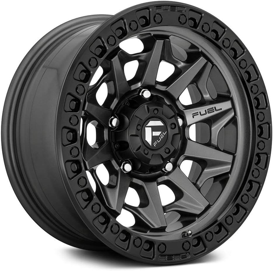 Free shipping New Fuel Wheels - Covert famous 17x9 6x139.70 Black Bead Matte Metal Ri Gun